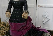 antique dolls clothing