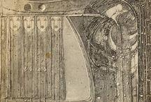 Art Nouveau inspiration / Flowing lines, wiplash curves, Love  Art Nouveau