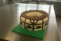 Globe Theatre cake