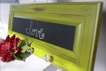wax and chalk paint