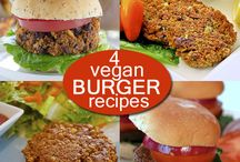 Burgers, Burgers, Burgers! / by Laura Theodore, the Jazzy Vegetarian