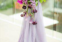 wedding flower swag