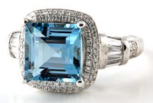 Aquamarine / Incredible aquamarine gemstones and jewellery