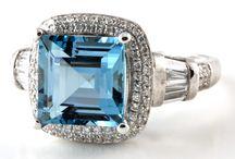 Aquamarine / Incredible aquamarine gemstones and jewellery