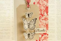 Cards_Butterflies / Clever ways to use Butterflies on your card. / by Melyssa Connolly