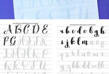 DIY: Calligraphy & Fonts