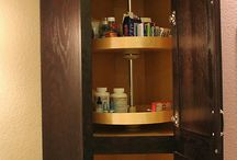 Corner Cabinets / by HouseOrganized