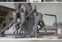 Скульптура, лепка
