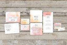Papeterie Hochzeit / Karten, Save-the-date, etc...