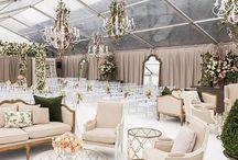 Salas Lounge / Ideas para salas Lounge de bodas