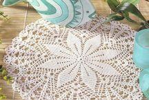 horgolt szőnyegek