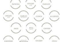 Etykiety do kuchni