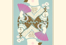 playing card illustrations