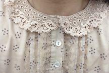 lace & ruffles & pearls