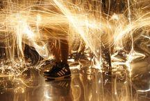Light installation / Instalaciones artísticas con luz