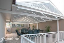 Spanline Roofing Profiles / Spanline products can be customised to perfectly suit you and your home, with a large range of roofing profiles.