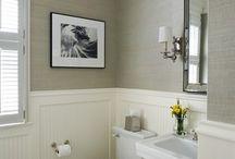 Downstairs bathroom  / by Michelle Mary-Elizabeth