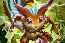 Ratatoskr │The Sly Messenger / Ratatoskr, the sly messenger, has lived in the World Tree since time immemorial. Where he came from or why is truly unknown, but if there's a way for him to stir the pot between any two gods, he'll do it. He's a master of gossip and coy, backhanded compliments. And yet, all the Gods come to him for news. His home on the trunk of Yggdrasil conveniently places Ratatoskr at the center of all cosmic activity. / by SMITE: The Game
