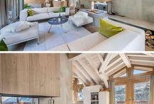 Kaminideen – Diese Doppelseitige Kamin Trennt Das Wohnzimmer Und Esszimmer