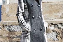 Winter Coat Inspiration Board / by Kelly Schneider