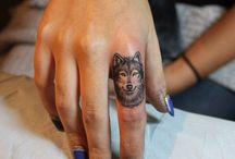 Tatto på fingrene