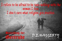 Teasers ~ Searching for Gertrude / Teasers for the historical fiction novel, Searching for Gertrude.