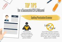 cv and resumes