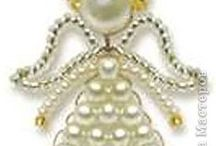 Christmas beads Ángel