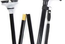 Foldable and Adjustable Walking Cane