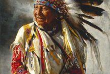 Native / First Nation People of the America.
