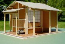 Japanese garden sheds