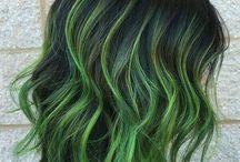 Vihreät Hiukset