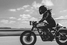 woman & bikes
