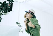 Cara for Topshop @ Zalando // Behind The Scenes