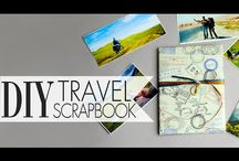 DIY Scrapbooking / These step-by-step DIY scrapbooking tutorials will show you how to make your own travel scrapbook, invitation cards and more! #scrapbooking #diycards #greetingcards