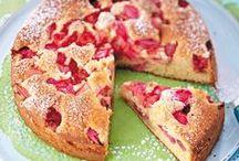 erdbeer und rhabarber kuchen