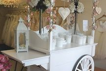 Sweet carts and ideas / Ideas of how to include sweets in your big day