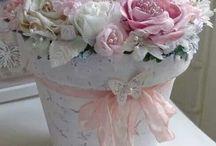Flower pots DIY decorating