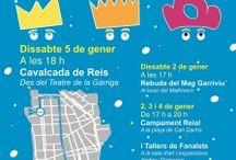 Cartells Activitats 2016 a #laGarriga / www.lagarriga.cat Agenda d'activitats a la Garriga