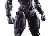 Future armors & robots