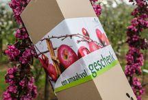 Eindejaarsboom / Op zoek naar een cadeau'tje voor de feestdagen?  Schenk eens een MiniTree appelboom in een leuke geschenkverpakking.