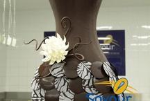 Chocolate sculptures