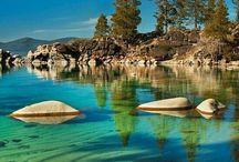 Nature. Rivers and lakes / Nature. Rivers and lakes