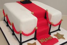 Red carpet cake