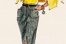 ファッションイラスト Fashion illustration