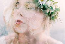 FLOWER HAIR CROWNS / flower hair crowns, Blumenhaarkränze, Haarschmuck, Flower Headpieces