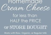 Dairy on the Homestead: Milking, Butter, Cheese, Sour Cream, Yogurt / Dairy: cow, goat, sheep. Milk, butter, cheese, sour cream, yogurt. Recipes, how to and more.  Go to http://myhomesteadlife.com/ to read more.