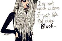 Gotic and black