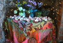 Altar Inspiration / Wicca. Witchcraft. Pagan. / by Witches High Tea