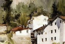 Huayi Yu-Watercolours